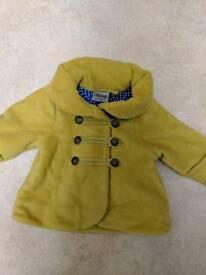 6-9months girls NEXT coat