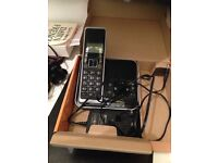 Home phone with answering machine