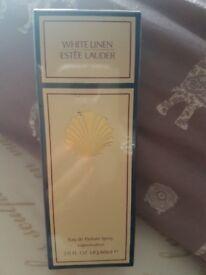 SOLD White Linen Perfume