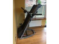 Reebok Edge 2.2 Motorised Folding Treadmill now £220 only-Livingston