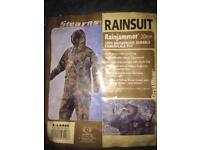 Camo rainsuit