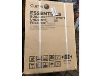 Currys Essentials Intergrated Built in Under Freezer New and Unused Boxed