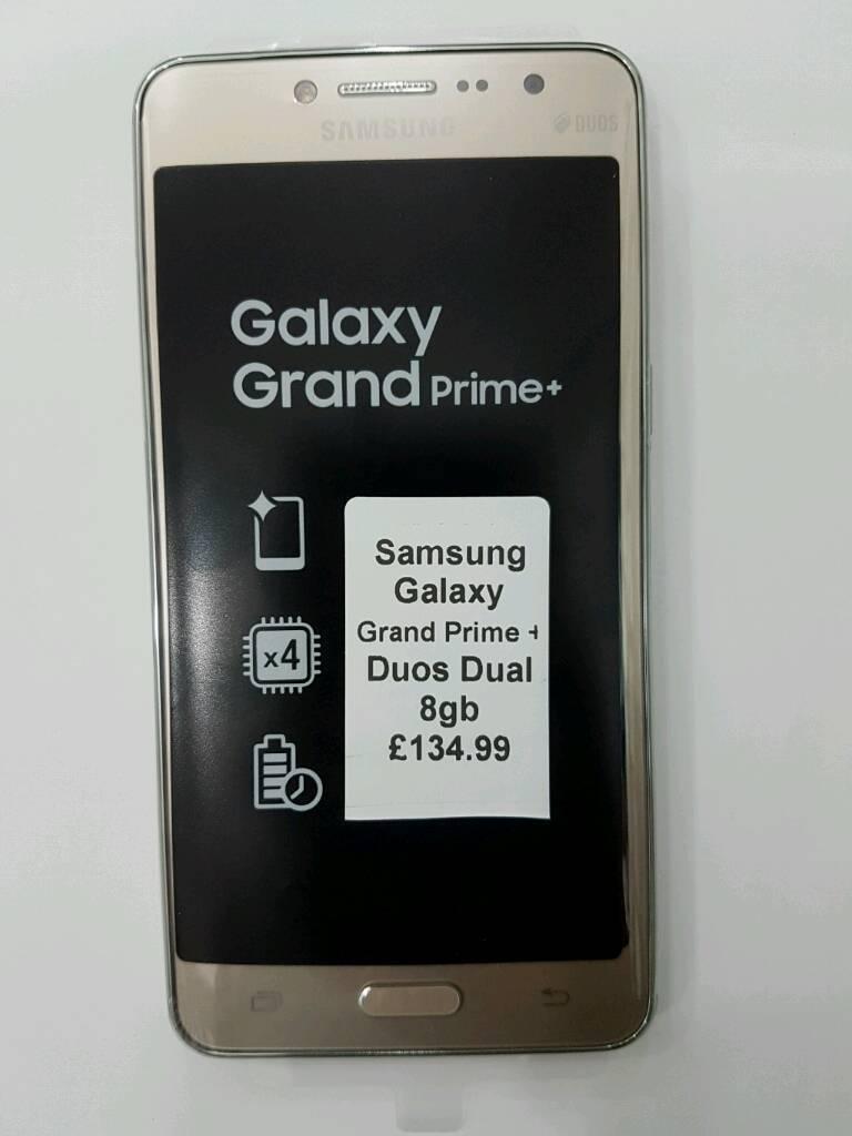 Galaxy grand duos black color