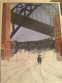 Snowy Tyneside