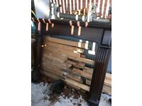 Solid Wooden Fire Place Surround