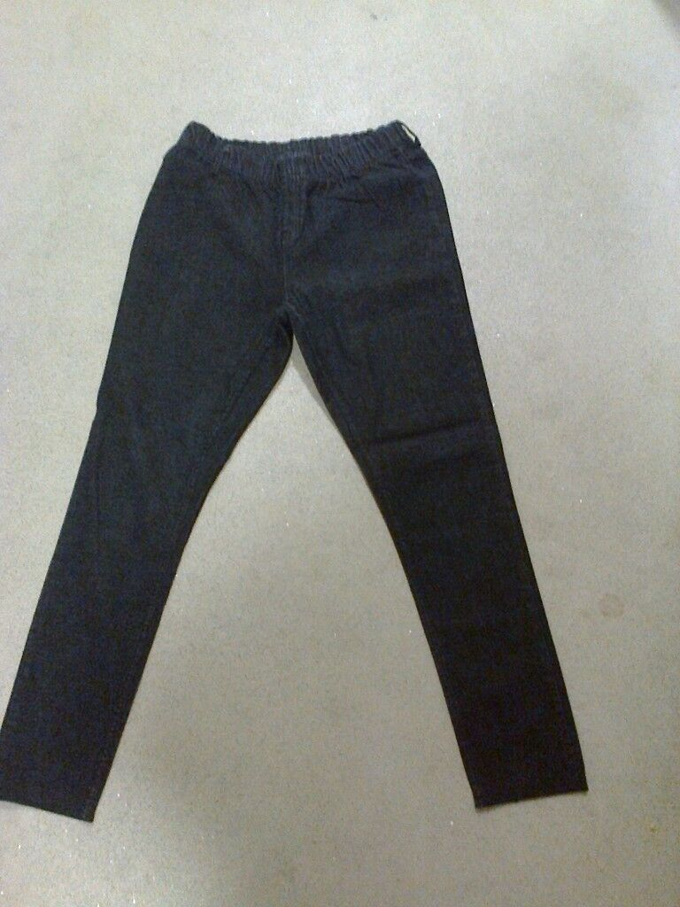 67499f2e7f6 ladies black Matalan elastic waist jeans size 18 | in Rochester, Kent ...