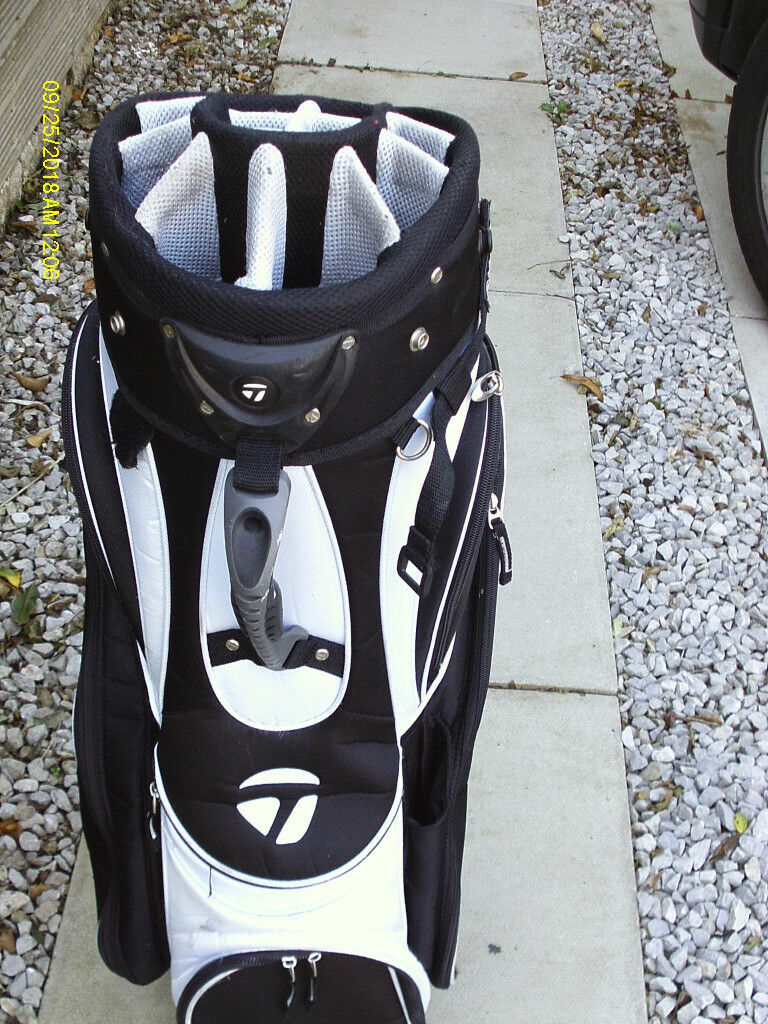 6b640c60d611 TAYLORMADE 14 DIVISION GOLF CART BAG
