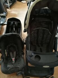 Graco pram and car seat