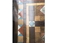 Original Victorian floor tiles