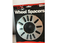 3mm wheel spacers 2 pairs brand new universal