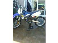 Yz125 1997 and trailer