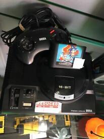 Sega mega drive retro console