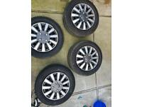 Volkswagen mark 5 wheels alloys 5 stud