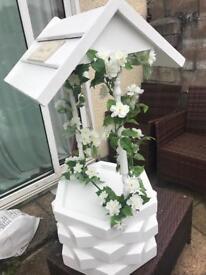 Stunning wishing well/post box (wedding/party...)
