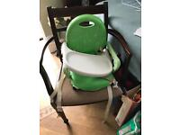 Infant booster seat