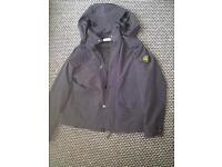 Stone Island Jacket men's large, micro reps in black