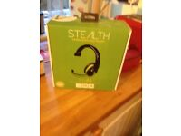 Stealth gamers headset