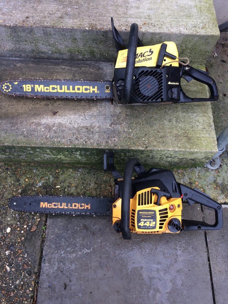 2 x mcculloch chainsaws spares or repair in ruislip london gumtree 2 x mcculloch chainsaws spares or repair keyboard keysfo Gallery