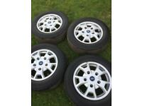 FORD TRANSIT CUSTOM ORIGINAL WHEELS