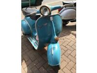 1964 Vespa VBB 150 uk barn find Scooter. Runs, original