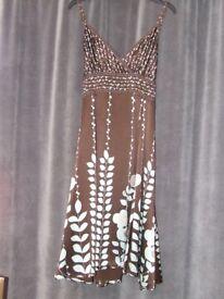 Ted Baker Silk Dress size 12