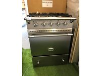 Lovely Lacanche Range Cooker Oven Stainless Steel and Chrome all GAS INC VAT