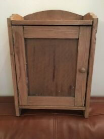 SWEET LITTLE RUSTIC, PINE, VINTAGE CABINET