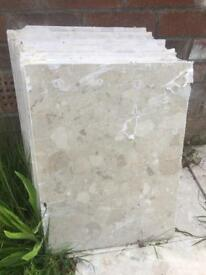 clongmerate marble off cuts x37 can be used for flooring or other