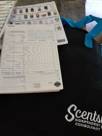 Scentsy job lot new bag moulds order forms/flyers