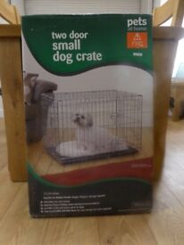 Dog Crate for small to medium breed dog