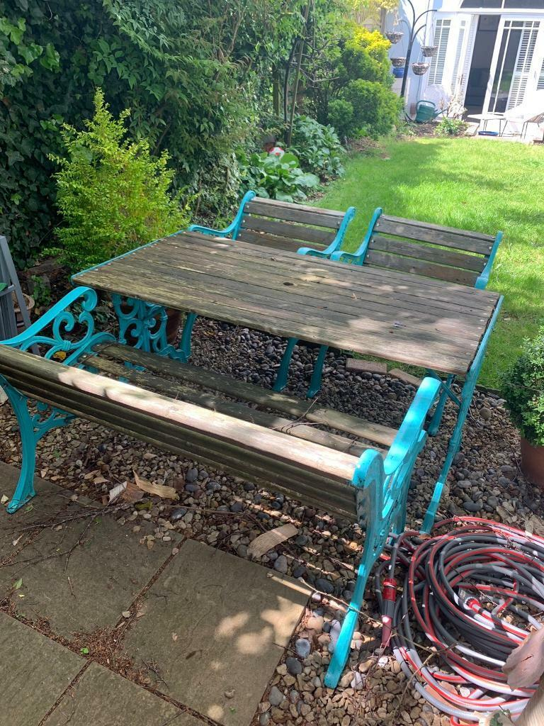 Fabulous Cast Iron Garden Furniture Outdoor Seating In Clifton Bristol Gumtree Gmtry Best Dining Table And Chair Ideas Images Gmtryco