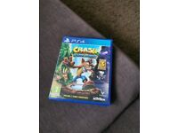 Crash Bandicoot N. Sane Trilogy - includes 3 games. PS4 and PS5 PlayStation game