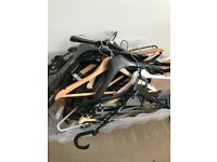Over 100 coat hangers FREE from Tooting