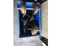 Dumbbells and Weight Bench