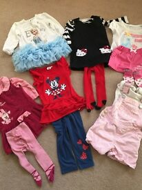 Baby girl 9- 12 months clothes bundle
