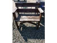 Large garden seats / small benches
