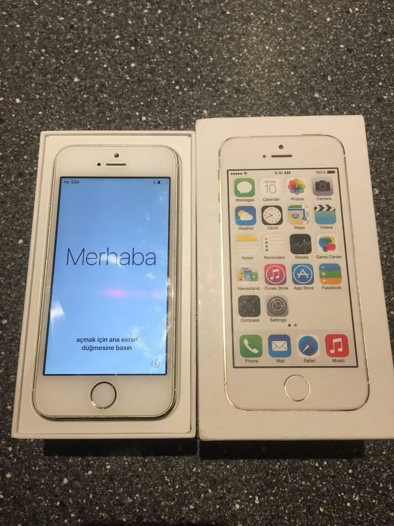Apple iPhone 5S Gold 16gb - Unlocked