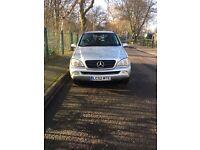 Mercedes ML Automatic 320 Petrol