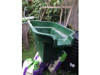 fibreglass pond filter / pond storage water tank