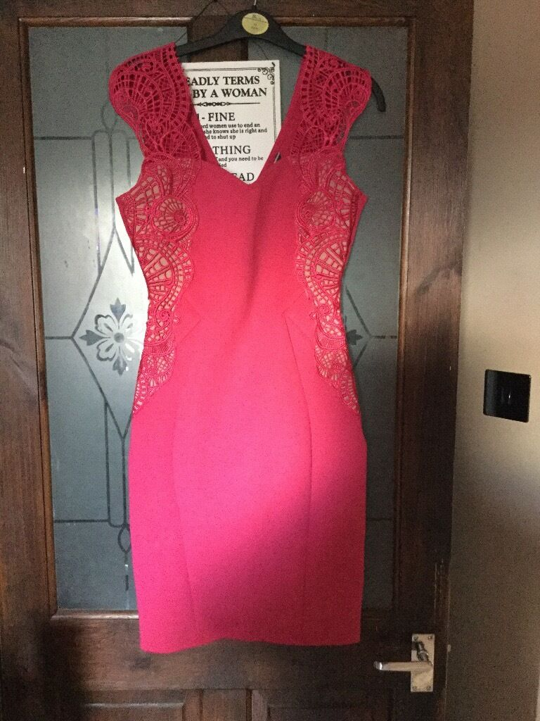 Lipsy dress size 10in Ipswich, SuffolkGumtree - Lipsy pink fitting dress size 10 worn once.£10.00.Having a clear out check out my other items