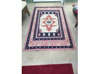 Beautifully patterned rug