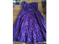 Boohoo lace dress size 10