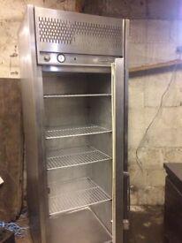 Williams stainless steel tall fridge