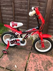 Children's 14inch racer style bike