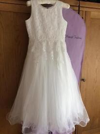 Stunning first communion dress size 8