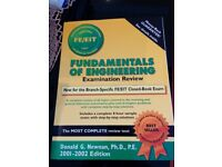 Fundamentals of Engineering Examination Review - Mint Condition.