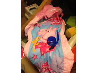 Peppa Pig Ready Bed, complete with pump and attached carry bag. Mint condition.