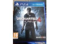 Uncharted 4: A thief's end ps4 (PlayStation only game)