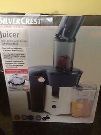Silver crest Juicer