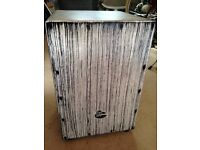 LP Aspire Accents Cajon, White Streak